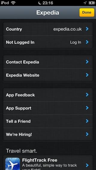 expedia-settings